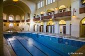Schwimmhalle im alten Volksbad in Nürnberg